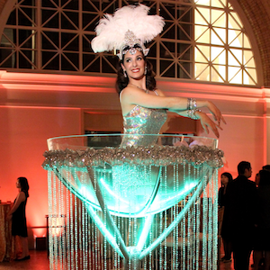 Giant Martini Glass image