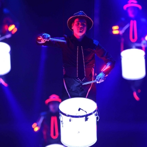 Flying Drummers image