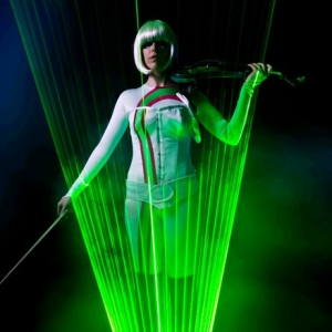 Lumina, the Laser Violinist image