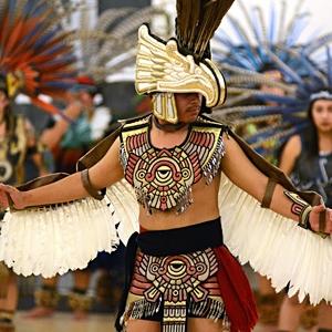 Aztec Drummers and Dancers image