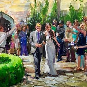 Agnes Russo - Live Painter image