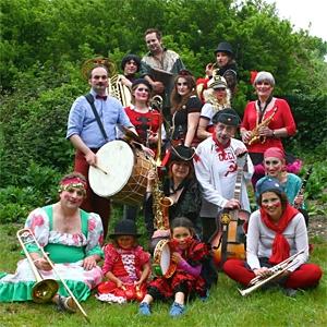 Balkan Brass Gypsy Carnival Band image