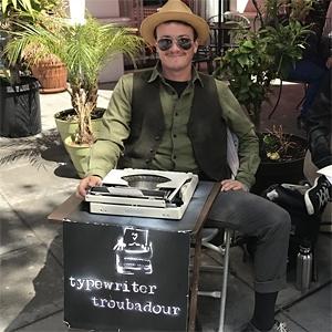Typewriter Troubadour image