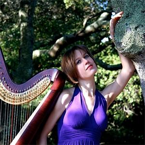 Liza Wallace - Harpist image