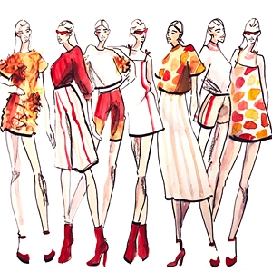Marina Bell Fashion Illustration image