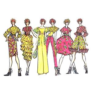 Deanna Khorawon Fashion Sketch image
