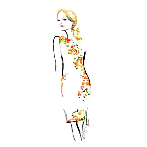 Cristina Tudor - Fashion Sketch image